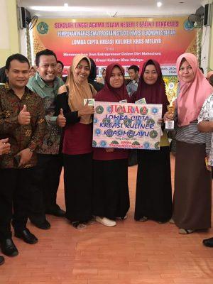 Juara II lomba Cipta Kreasi Kuliner Khas Melayu